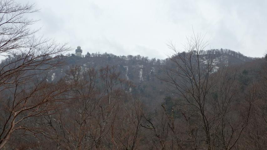 高城山の山頂