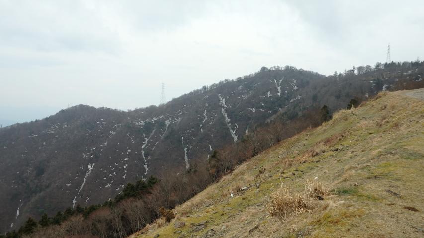 徳島のヘソから南高城を望む