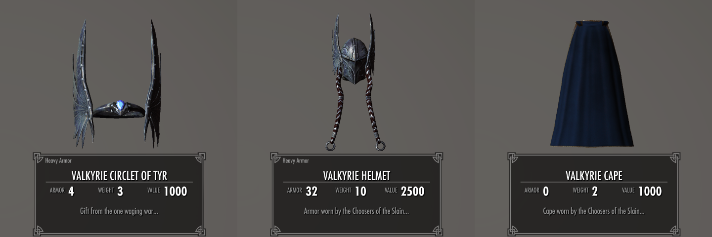 Zerofrost Valkyrie 015-1 Info cape 2