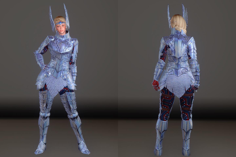 Zerofrost Valkyrie 051-1 Pose Fu-Ba-F 2