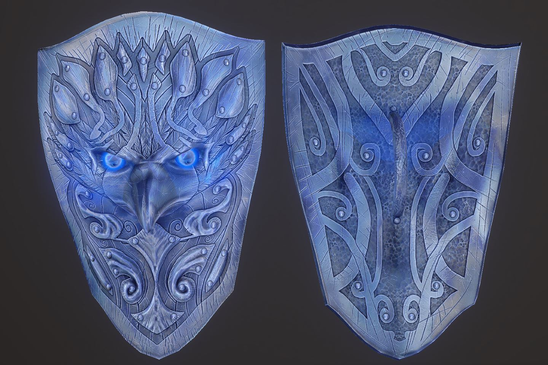 Zerofrost Valkyrie 065-1 Pose Shield-Enc 1