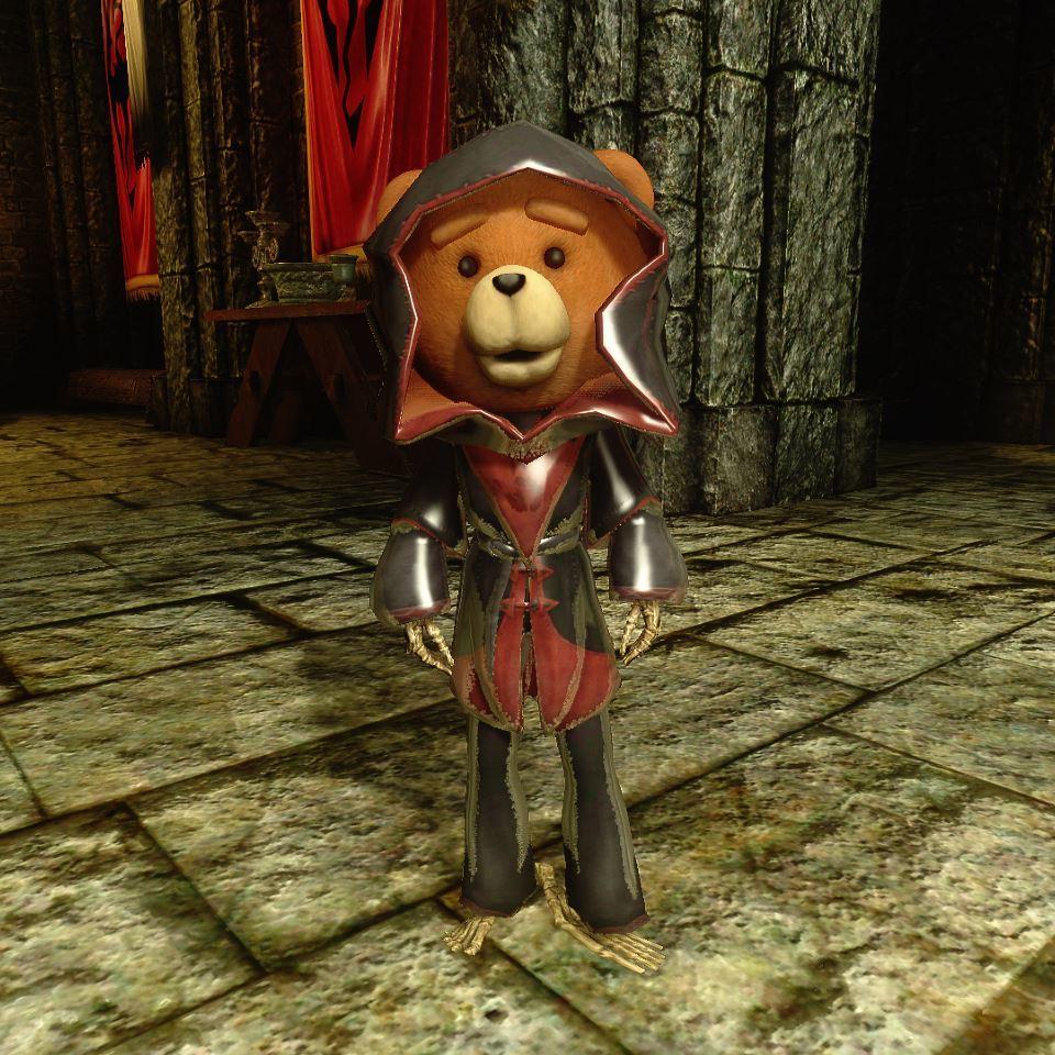Rupert 065-1 Pose DarkBrotherhoodOutfit 1