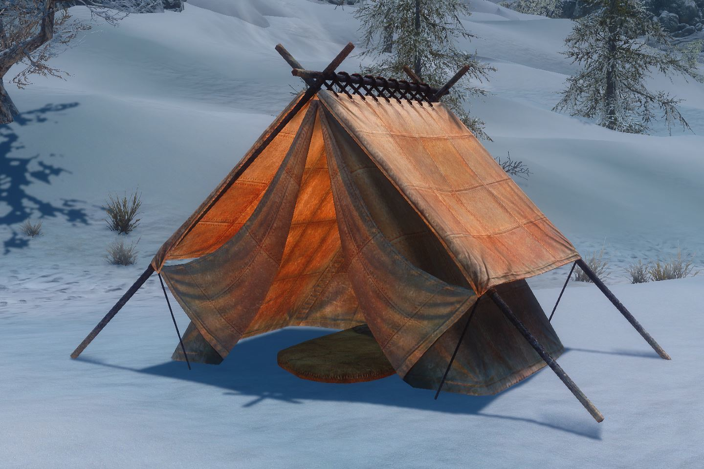 Campsite 042-1 Info ClothTent 1