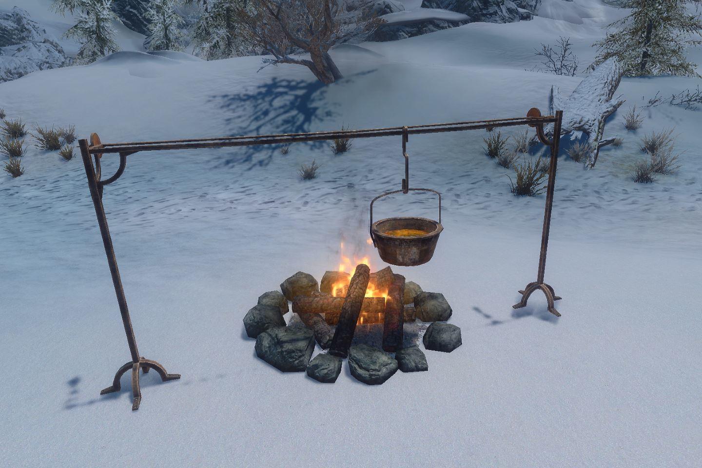 Campsite 063-1 Info Small Campfire 1