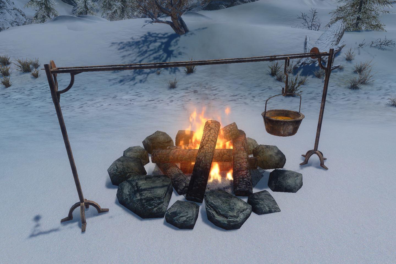 Campsite 064-1 Info Large Campfire 1