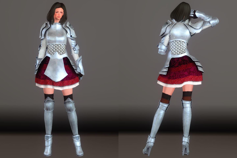 Chevaleresse Armor 031-1 Pose Fu-Ba-F 2