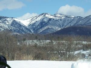 芳ヶ平山地