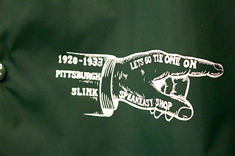 SLINK SPEAKEASY COACH JKT3