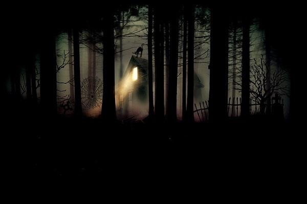 フリー画像・深い森