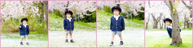青森県 弘前市 さくら サクラ 桜 キッズ ロケーション 写真 撮影 記念 出張 カメラマン 入園式 入学式