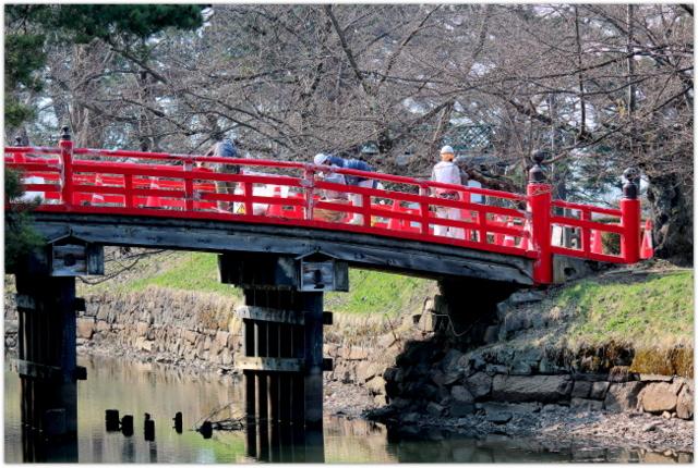 青森県 弘前市 弘前公園 弘前城 観光 写真