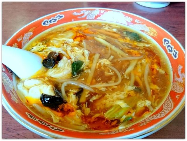 酸辣湯麵 青森県 五所川原市 ランチ グルメ 写真 ラーメン 中華 料理 柳 やなぎ