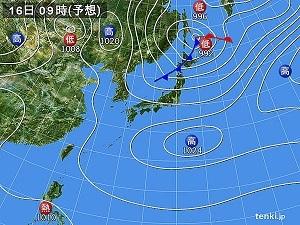 16日天気