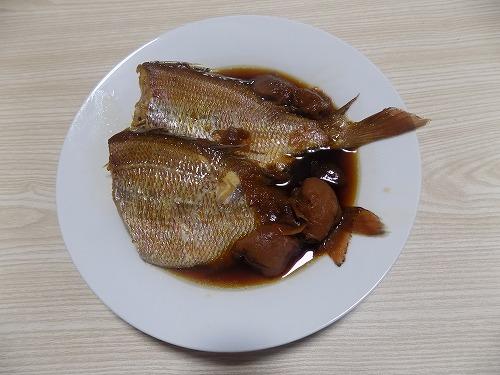 真鯛煮付け