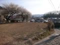 西多賀の家敷地