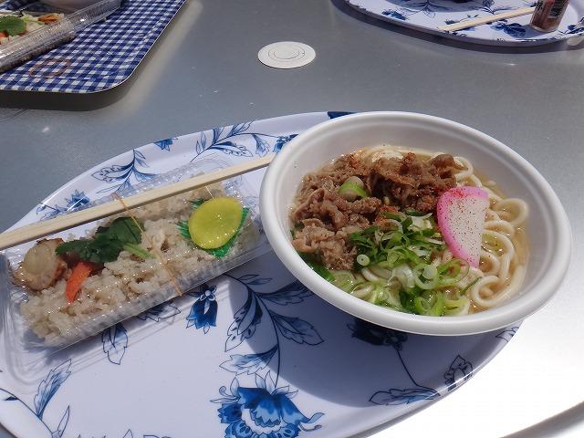 ⑦20170416徳佐昼食