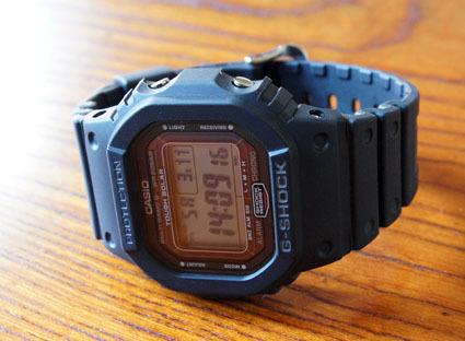 カシオ計算機 G-SHOCK「GW-5000-1JF」 01