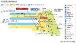 中部国際空港駅構内図水彩