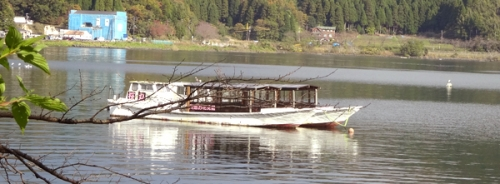 船の映り込み2