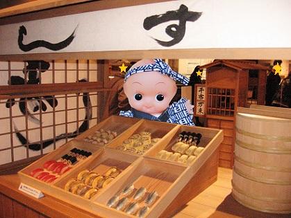 お寿司の屋台です