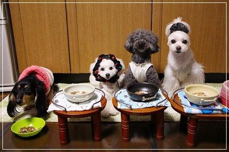 お食事4姉妹!!