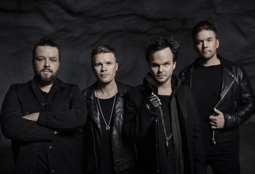 The Rasmus promo 2017 Anders Thessing