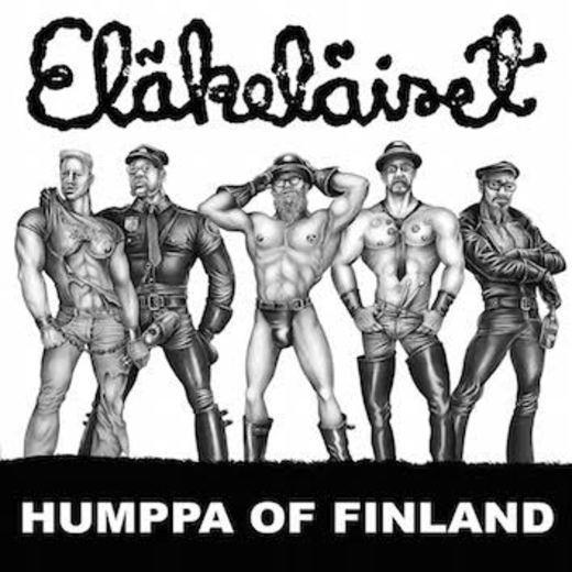 Eläkeläiset Humppa on Finland Kansi
