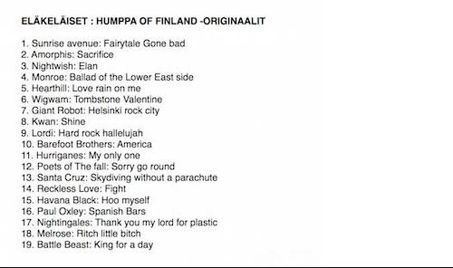 Eläkeläiset Humppa Of Finland original