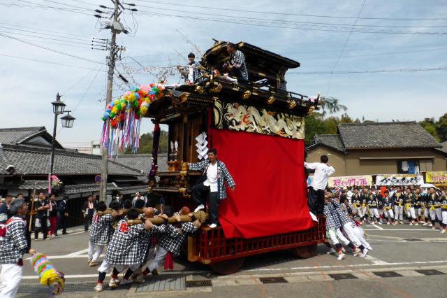 雨車(中組の山車)8