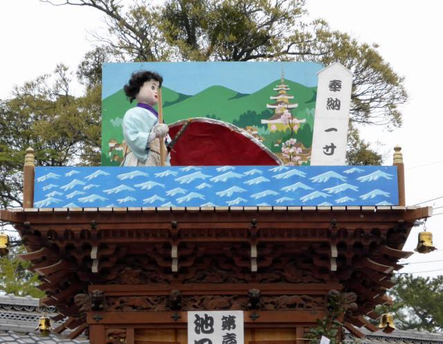 池田町の曳山2