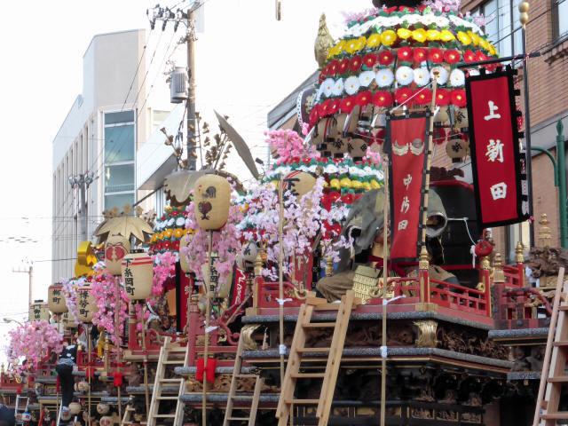神輿と花山車15