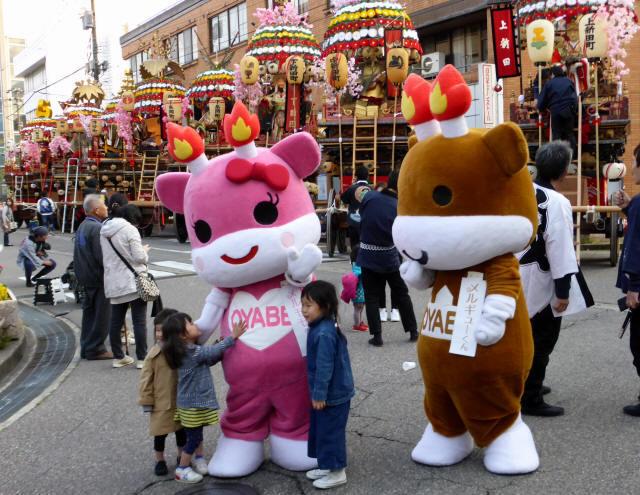 神輿と花山車16