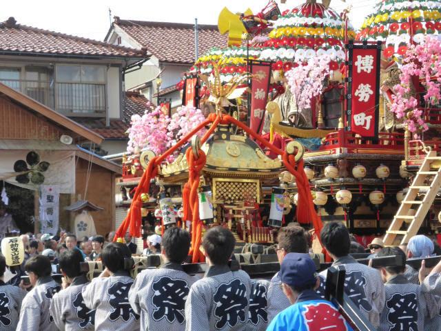 神輿と花山車19