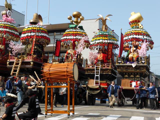 神輿と花山車12