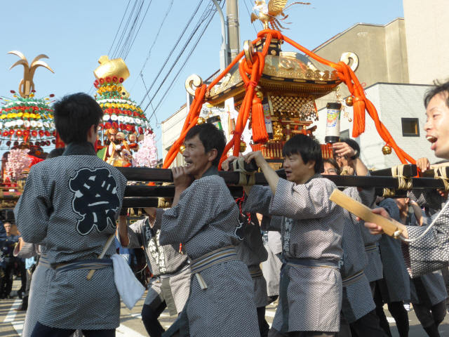 神輿と花山車13