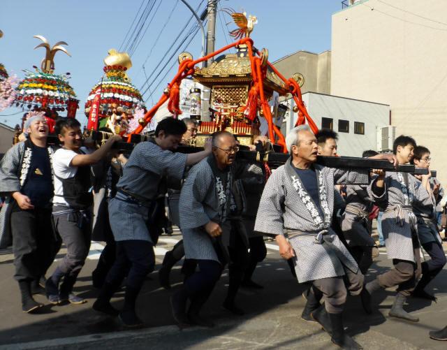 神輿と花山車14