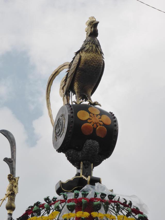 小馬出町「太鼓に鶏」4
