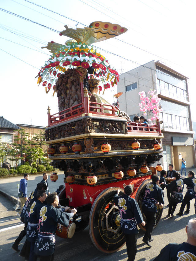 下糸岡町「あげ羽蝶」6