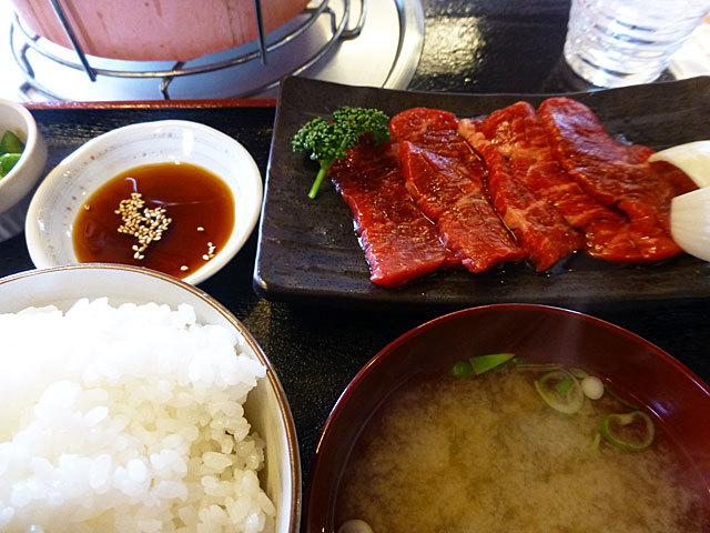 17 3/19 みふじ カルビ定食