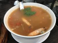タイ風海鮮トマトスープ170217