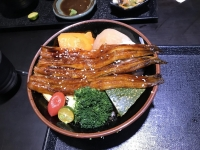 日本産焼きアナゴ丼170311