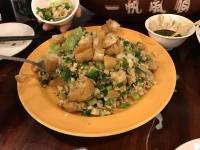 臭豆腐卵とじ170421