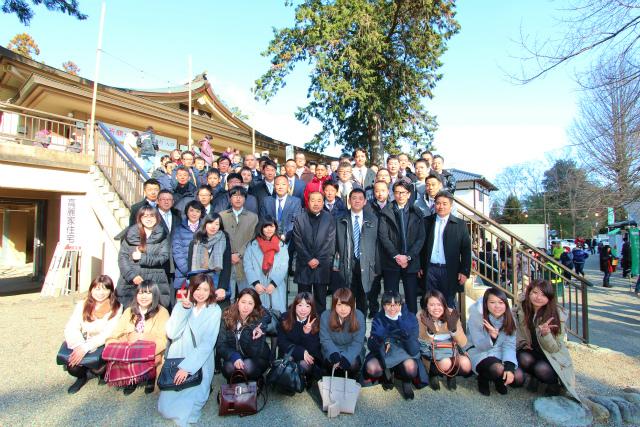 2017-1-5 高麗神社初詣 集合