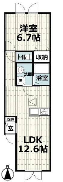 ■物件番号4889 海まで徒歩3分のペット可輸入住宅!1LDKタイプ!パークでサーフィン!7.8万円!!