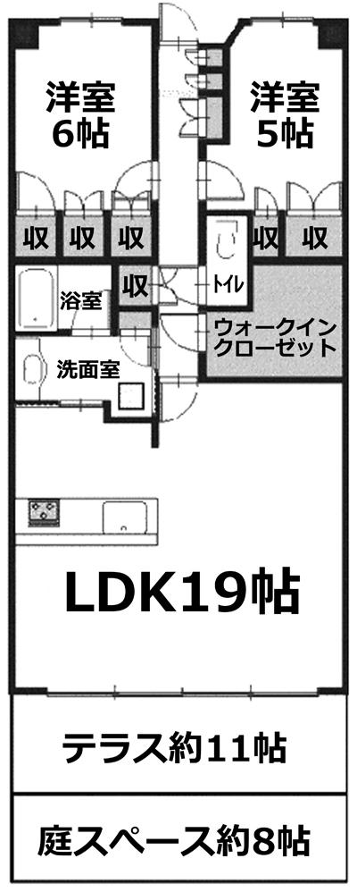 ■物件番号4915 ★初登場!海1分!分譲マンション賃貸!LDK19帖!WIC付!2LDK!P付15万円!
