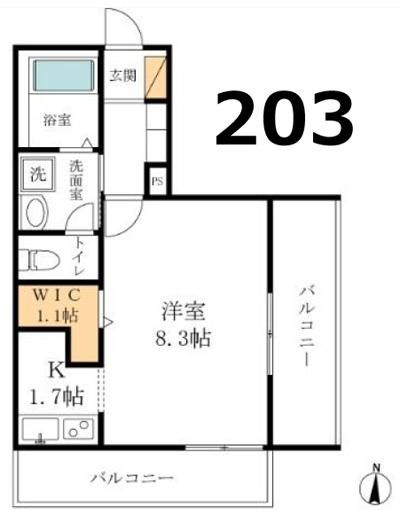 ■物件番号4897 新築マンション2階カド!駅5分!超駅近!海側!1K+WIC!充実設備!7.1万円!