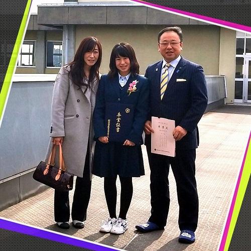 卒業式へ!