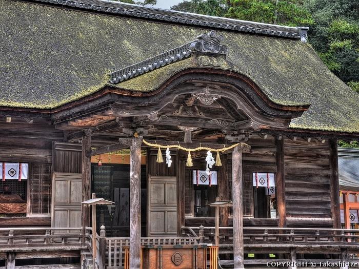 大山祇神社拝殿