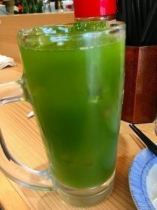 170329晩杯屋@緑茶割