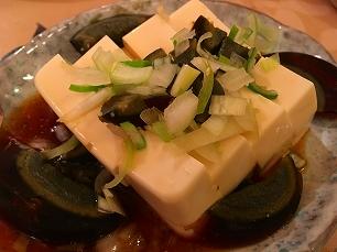 170403奉天飯店@ピータン豆腐